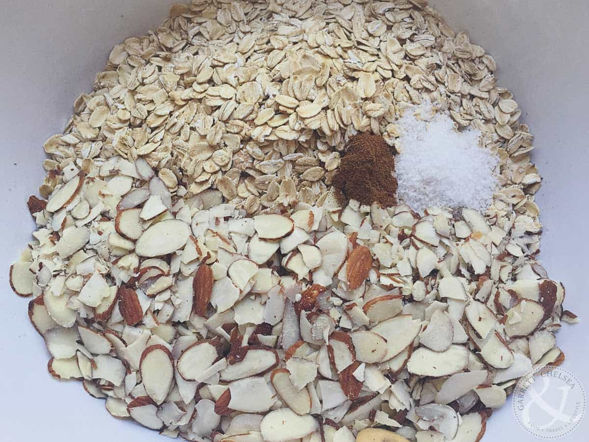 How to Make Granola Mix Dry Ingredients