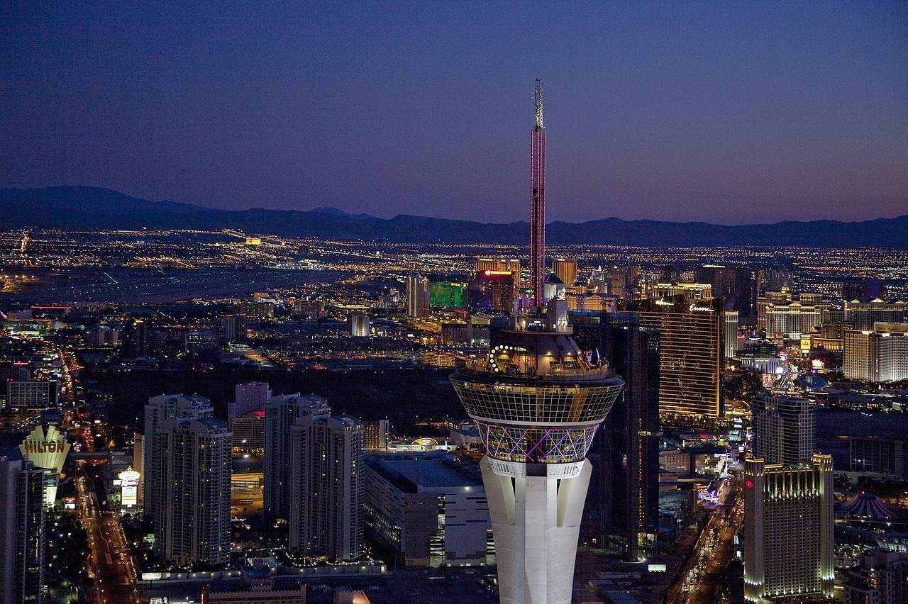 See the Las Vegas Strip from the Stratosphere