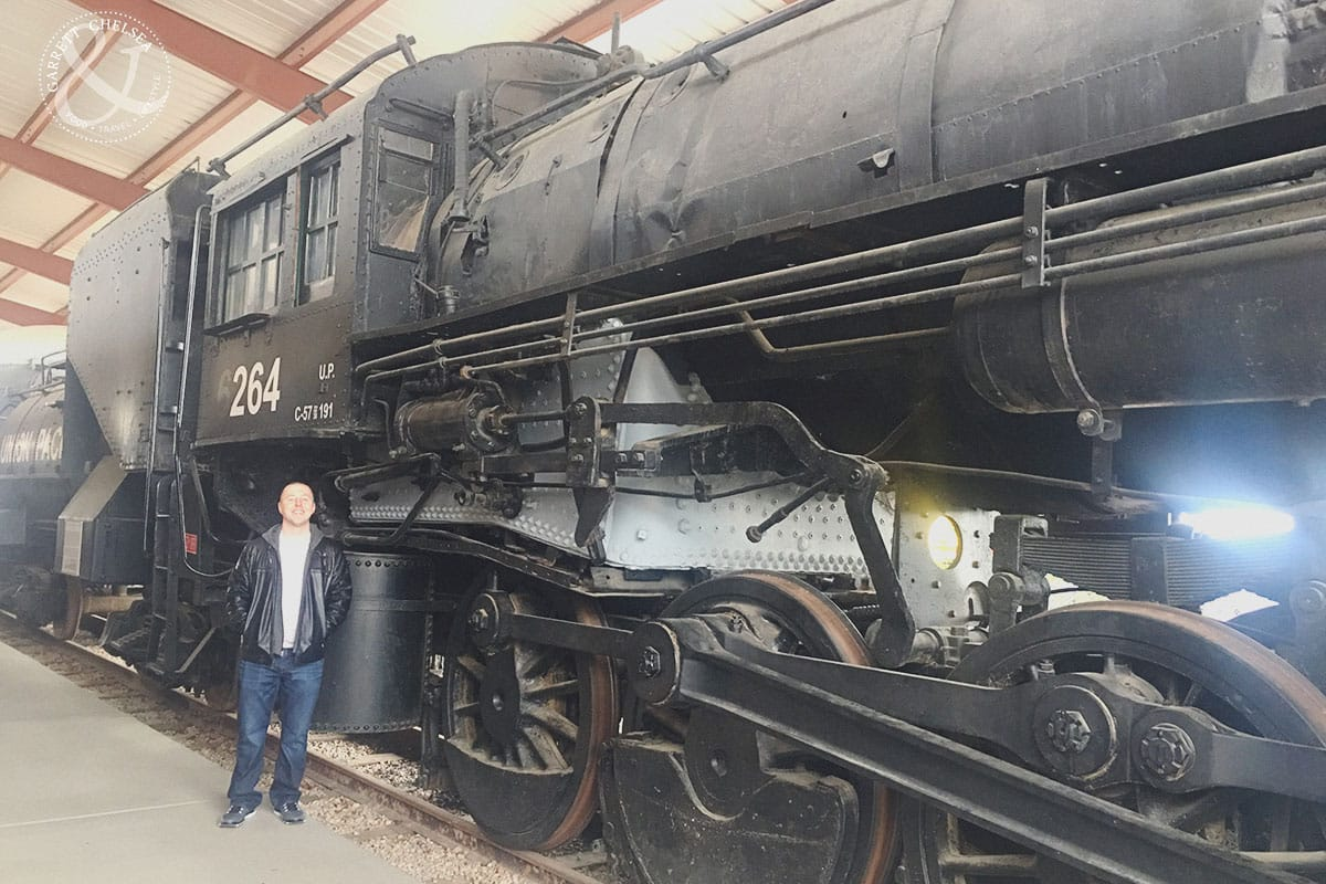Huge trains at the Southern Nevada Railroad Museum